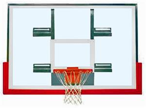 "Bison 48"" Unbreakable Glass Conversion Backboard"