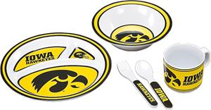 COLLEGIATE Iowa Children's Dish Set