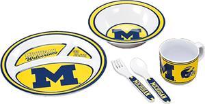 COLLEGIATE Michigan Children's Dish Set