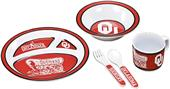 COLLEGIATE Oklahoma Children's Dish Set