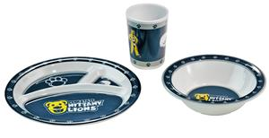 Collegiate Penn State Kid's 3 Pc. Dish Set