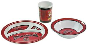 Collegiate South Carolina Kid's 3 Pc. Dish Set