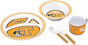COLLEGIATE Tennessee Children's Dish Set