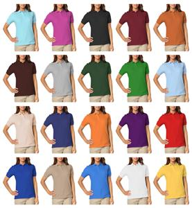 Blue Generation Ladies SS Soft Touch Polo Shirts