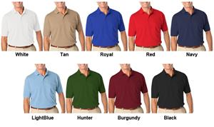Blue Generations Pocketed SS Soft Touch Polo Shirt
