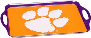 COLLEGIATE Clemson Melamine Serving Tray