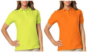 Blue Generation Ladies SS High Visibility Polo