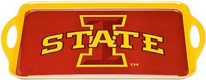 COLLEGIATE Iowa State Melamine Serving Tray