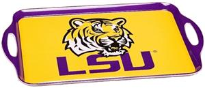 COLLEGIATE LSU Melamine Serving Tray