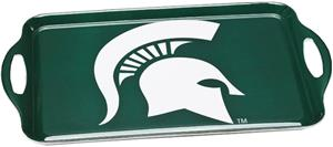 COLLEGIATE Michigan State Melamine Serving Tray