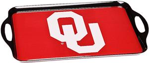 COLLEGIATE Oklahoma Melamine Serving Tray