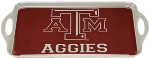 COLLEGIATE Texas A&M Melamine Serving Tray