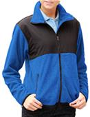 Blue Generation Ladies Polar Nylon/Fleece Jackets