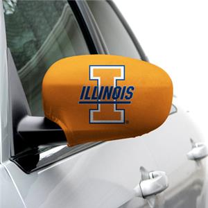 COLLEGIATE Illinois Medium Mirror Covers