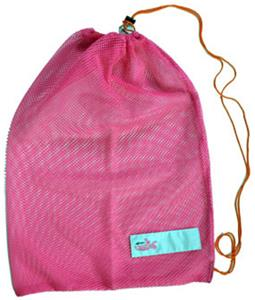 Dolfin Swimwear Pink Mesh Sling Bags
