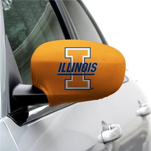 COLLEGIATE Illinois Large Mirror Covers