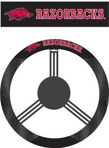 COLLEGIATE Arkansas Steering Wheel Cover