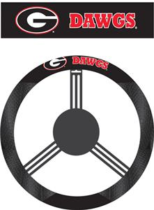 COLLEGIATE Georgia Steering Wheel Cover