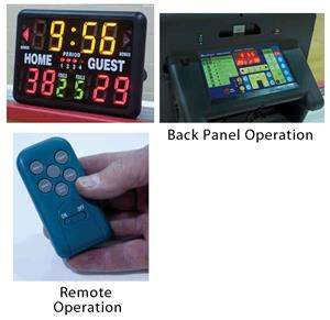 Bison Portable Wireless Remote Scoreboard