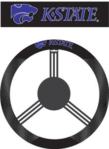 COLLEGIATE Kansas State Steering Wheel Cover