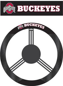COLLEGIATE Ohio State Steering Wheel Cover