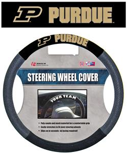 COLLEGIATE Purdue Steering Wheel Cover