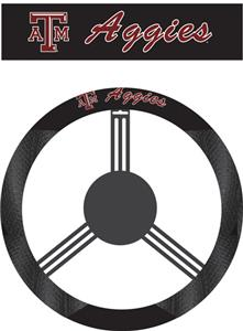 COLLEGIATE Texas A&M Steering Wheel Cover