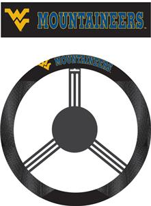 COLLEGIATE West Virginia Steering Wheel Cover