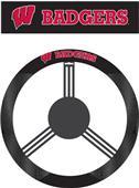 COLLEGIATE Wisconsin Steering Wheel Cover