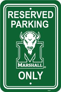 COLLEGIATE Marshall Plastic Parking Sign