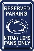 COLLEGIATE Penn State Plastic Parking Sign