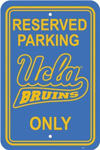 COLLEGIATE UCLA Plastic Parking Sign