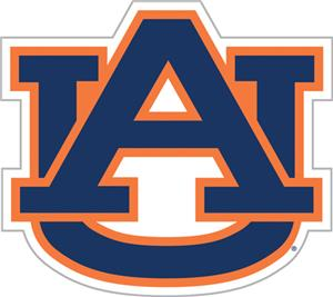 COLLEGIATE Auburn 12&quot; Vinyl Magnet