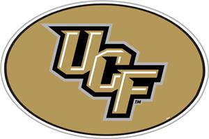 "COLLEGIATE Central Florida 12"" Vinyl Magnet"