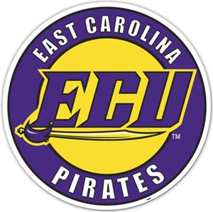 COLLEGIATE East Carolina 12&quot; Vinyl Magnet