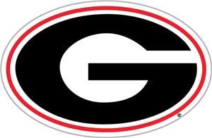 """COLLEGIATE Georgia """"G"""" 12"""" Vinyl Magnet"""
