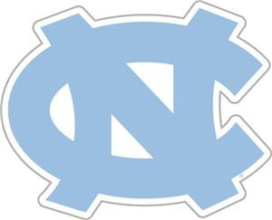 "COLLEGIATE North Carolina 12"" Vinyl Magnet"