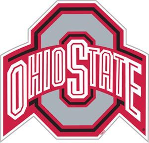 """COLLEGIATE Ohio State 12"""" Vinyl Magnet"""