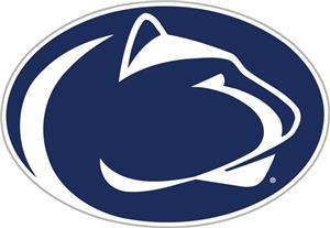 """COLLEGIATE Penn State 12"""" Vinyl Magnet"""