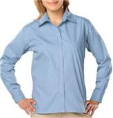Blue Generation Ladies LS Value Poplin Shirts
