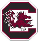 "COLLEGIATE South Carolina 12"" Vinyl Magnet"