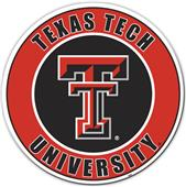 "COLLEGIATE Texas Tech 12"" Vinyl Magnet"