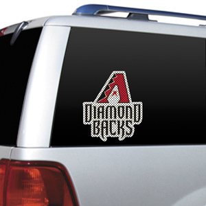 MLB Arizona Diamondbacks Auto Diecut Window Film