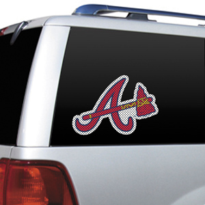 MLB Atlanta Braves Auto Diecut Window Film