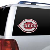 MLB Cincinnati Reds Auto Diecut Window Film