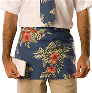 Adult Floral Print Tailgate Cooking Waist Aprons