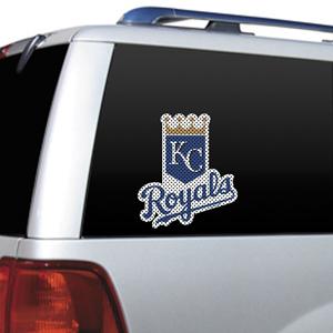 MLB Kansas City Royals Auto Diecut Window Film