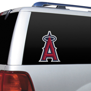 MLB Anaheim Angels Auto Diecut Window Film