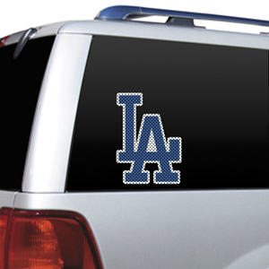 MLB Los Angeles Dodgers Auto Diecut Window Film