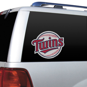 MLB Minnesota Twins Auto Diecut Window Film